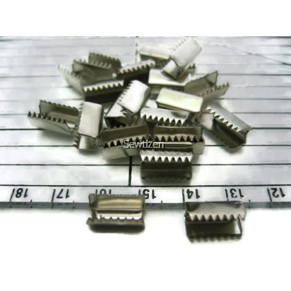 Jewelry Metal Crimp 11mm x 5mm (20 pcs)